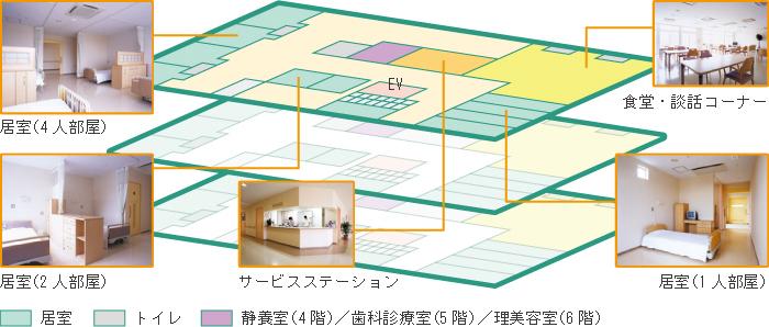 ひばり4・5・6階